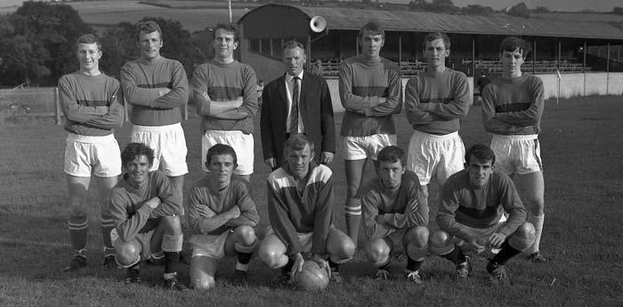 Tavistock AFC 1967 Team Pic