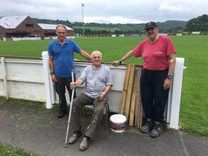 Tavistock volunteers, Richard, Derek and Eric