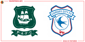 logos for Plymouth Argyle and Cardiff City